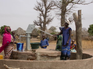 Women at New Well