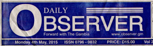 Observer banner